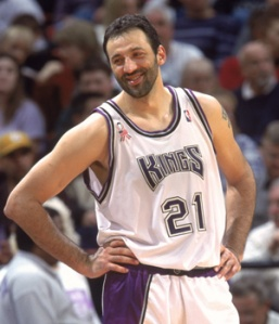 Vlade Divac - Sacramento Kings (c) Getty