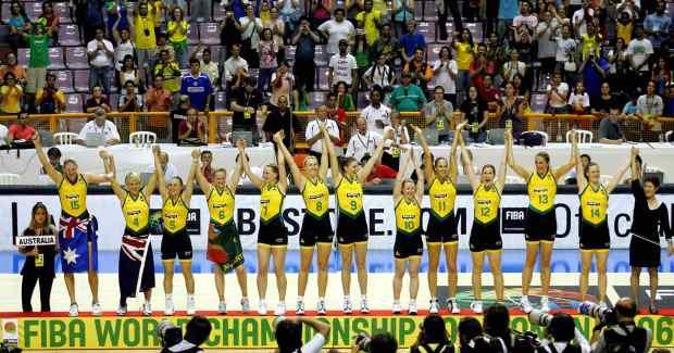 L'Australie, championne du monde en 2006 (c) DR