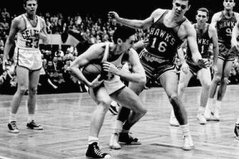 Celtics - Hawks final 1958