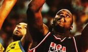 Shaquille O'Neal avec Team USA lors du Mondial 1994 (c) downtownball.net
