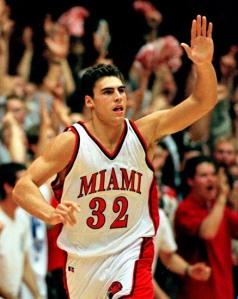Wally Szczerbiak - Miami Redhawks (c) AP Photo/Al Behrman)