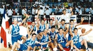 La Yougoslavie, championne du monde 98 (c) Fiba
