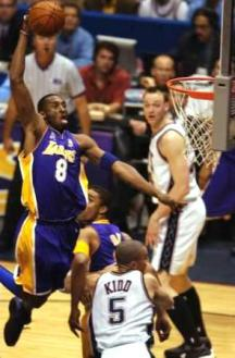 Kobe Bryant NBA Finals 2002 Nets Lakers