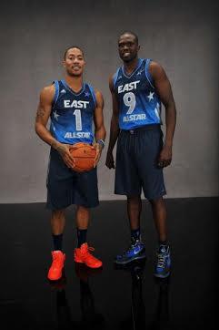 Rose et Deng All Stars @ NBAE
