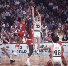 Celtics - 76ers playoffs 1980