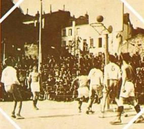 La photo du match @ Musée du basket italien