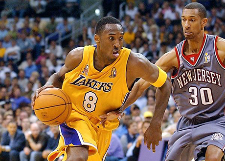 Lakers - Nets NBA Finals 2002 Kobe Kittles