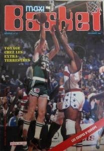 La première couverture de Maxi-Basket avec un joueur NBA © Maxi-Basket