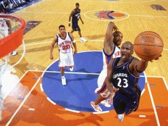 Michael Jordan 2003 Knicks MSG