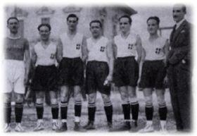 Il n'y a pas de photo des Bleus 1926. Alors nous vous présentons leurs adversaires.