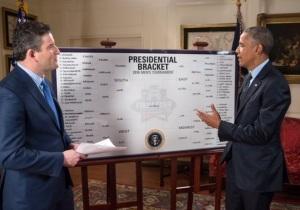 La cérémonie annuelle du Bracket Présidentiel © Chuck Kennedy / White House