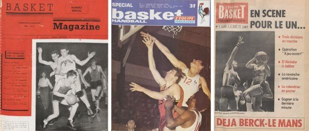 "La presse basket avant 1982 : ""Basket Magazine"", 35 numéros de 1947 à 1950. - ""Equipe Basket Magazine"", 53 numéros entre 1970 et 1973 - ""Equipe Basket Hebdomadaire"", 15 numéros en 1974 et 25 en 1975"