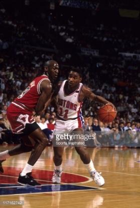 Jordan vs Isiah Thomas 1989