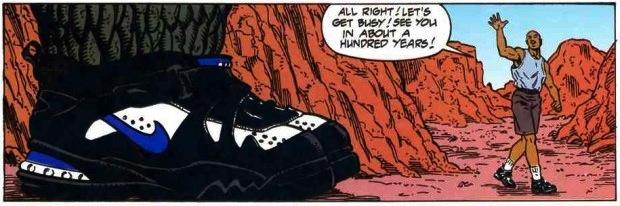La paire de Nike que tout collectionneur de sneakers rêve d'avoir © Dark Horse Comics - Nike