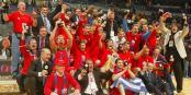 CSKA Moscou, vainqueur de l'Euroligue 2006 à Prague (c) euroleague.net