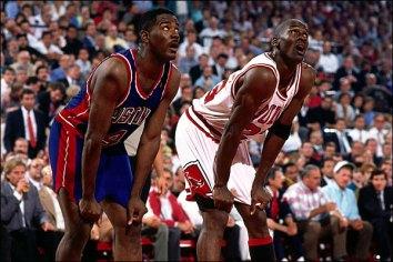 Jordan Dumars Bulls Pistons 1989