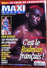 Une de Maxi Basket d'Avril 1996.