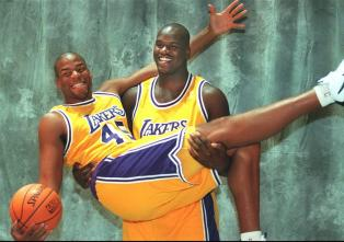 Shaquille O'Neal - Sean Rooks Lakers