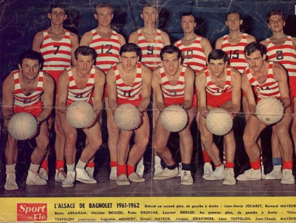 L'Alsace de Bagnolet lors de la saison 1961-1962