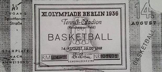 Un billet de la finale des Jeux de Berlin