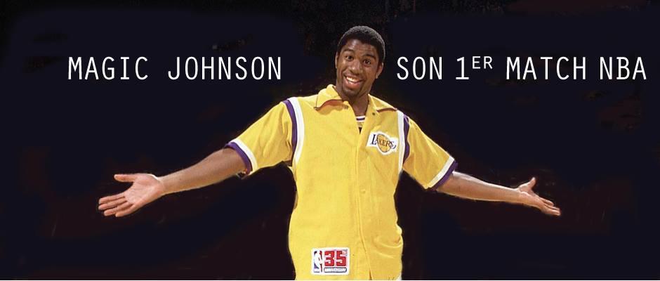 Magic Johnson – rookie –début