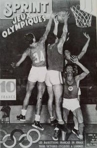 Une du magazine Sprint lors des Jeux de Londres 1948.