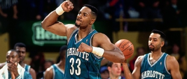 Alonzo Mourning Hornets 1993