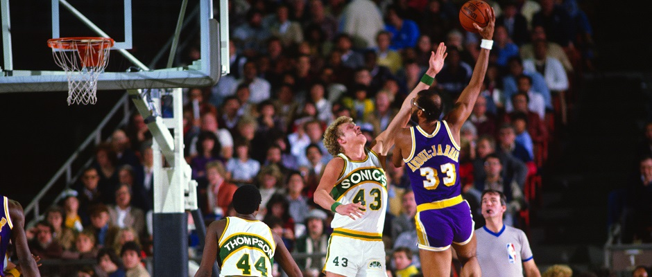 Lakers – Supersonics1980's