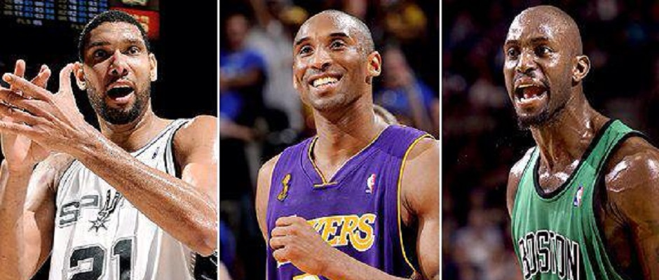 Golden Era – Kobe – Duncan –Garnett