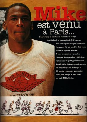 Mondial Basket 72 - septembre 97 - Jordan Paris 85