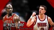 Michael Jordan vs Drazen Petrovic - Bulls vs Nets - 17 mars 1992 (c) MJ23 HAF