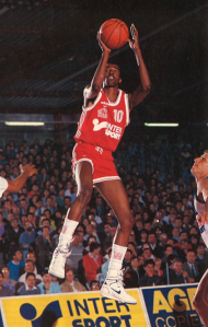 Graylin Warner, MVP de la rencontre. (c) Maxi-Basket