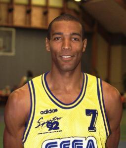 Patrick Cham, joueur de Levallois de 1992 à 1995