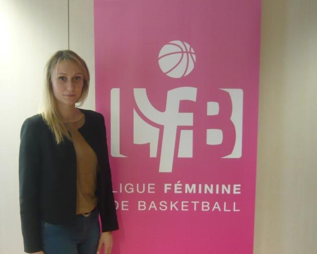 Irène Ottenhof- directrice LFB (c) Basket Retro