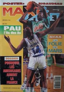 Couverture de Maxi-Basket, mai 1991.