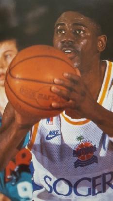 Michael Ray Richardson au lancer-franc @ Lire d'Or 1995