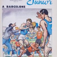Espagne France 1952 : Défenseur de caractère…(Collection Musée du Basket)