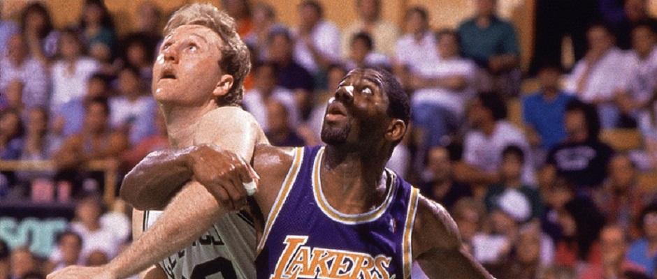 Larry Bird – Magic Johnson NBA Finals1987