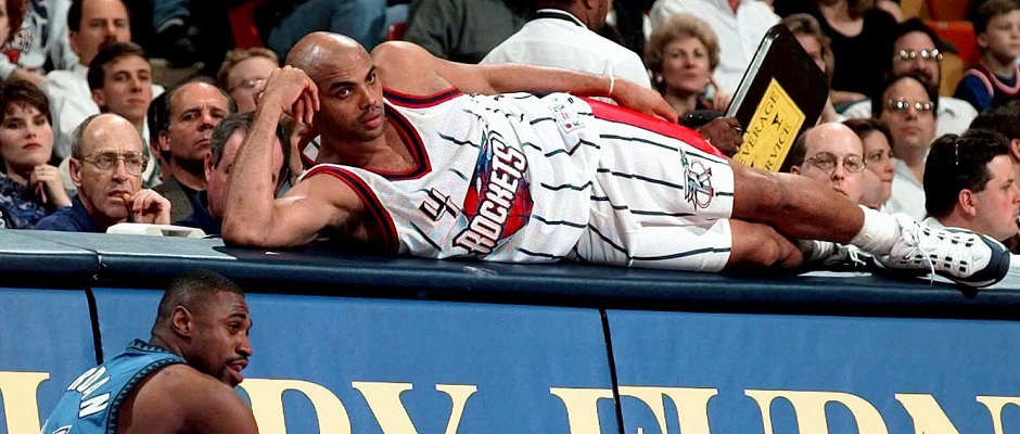 Charles Barkley – Houston Rockets1997