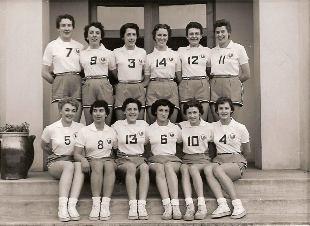 Equipe de France féminine de basket-ball féminin 1953