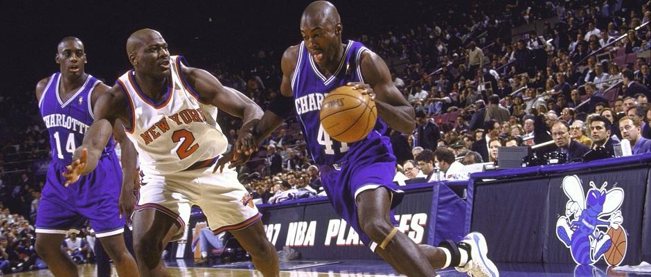 Knicks-Hornets 1997 playoffs