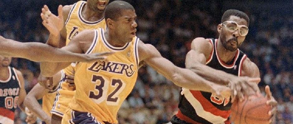 Blazers – Lakers1991
