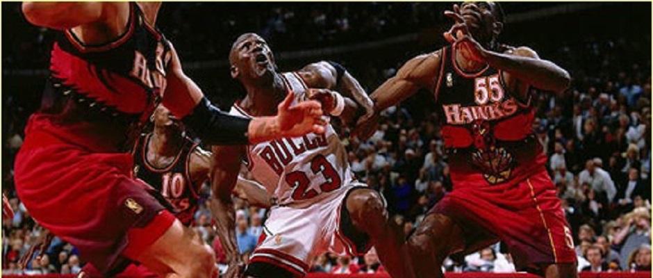 Bulls – Hawks playoffs1997