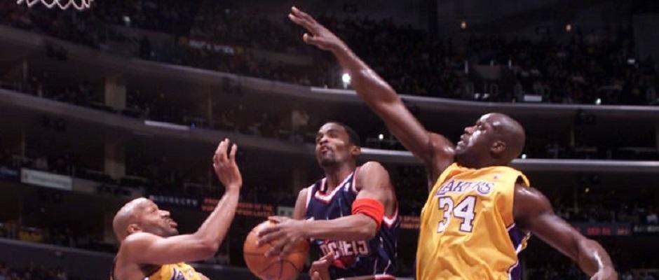 Shaq Harper Mobley Lakers2000
