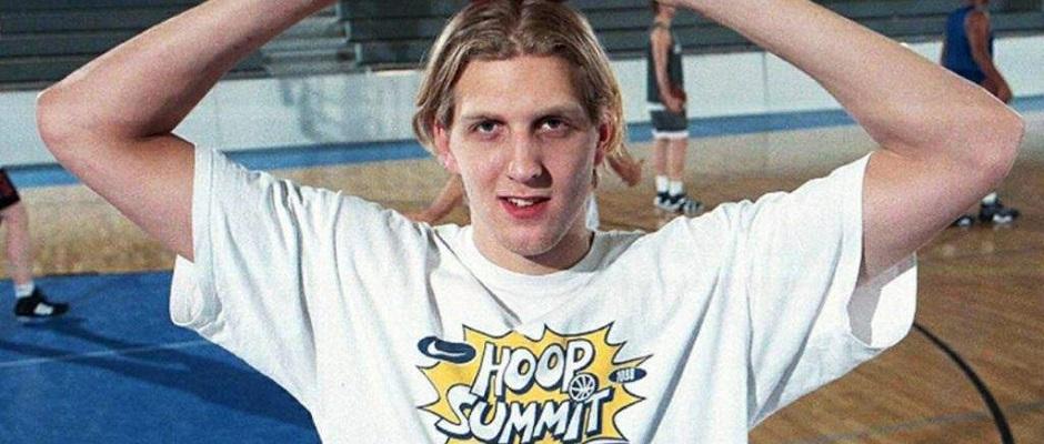 Dirk Nowitzki Nike Hoop Summit1998