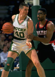 Basketball: Milwaukee Bucks Frank Bricko