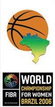 Logo Championnat du Monde féminin 2006 au Brésil
