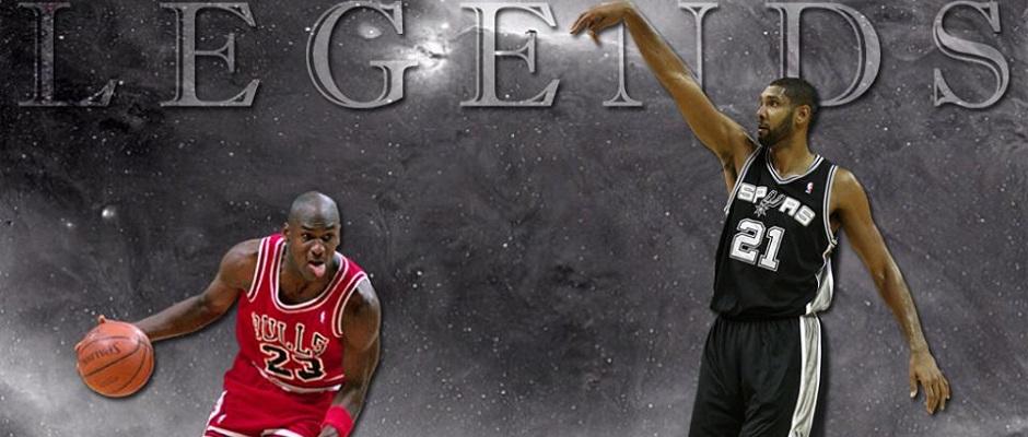 Michael Jordan – TimDuncan