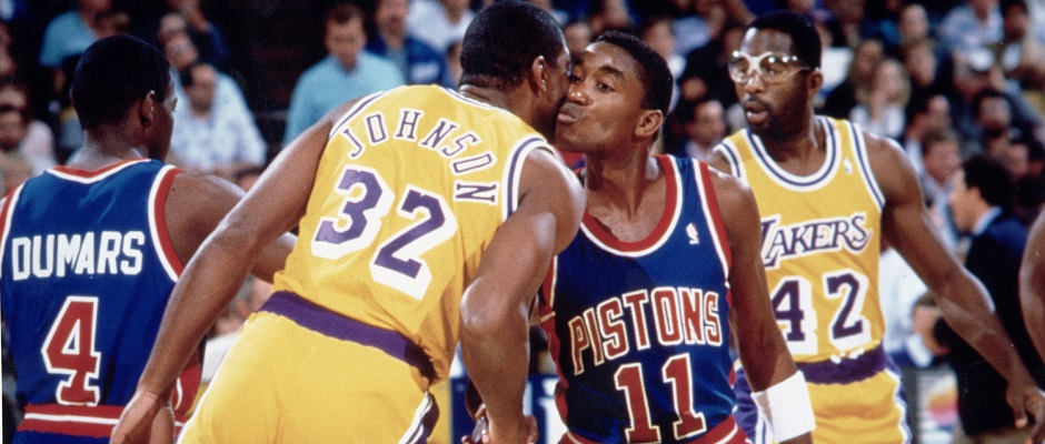 Pistons Lakers 1989
