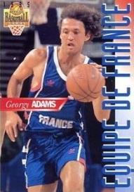 georgy adams avec le précieux maillot bleu